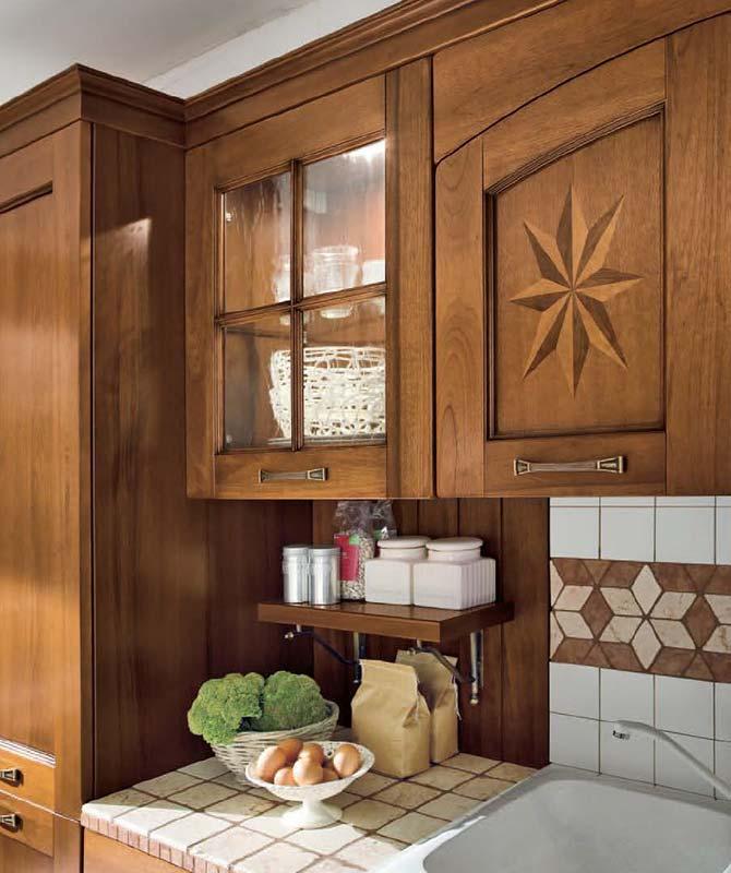 Specchiera Classica Noce Alba : Cucina alba mobili gamma srl