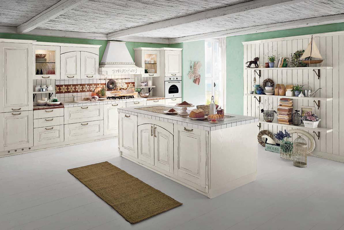 Cucina classica Ar-Tre Alba Noce