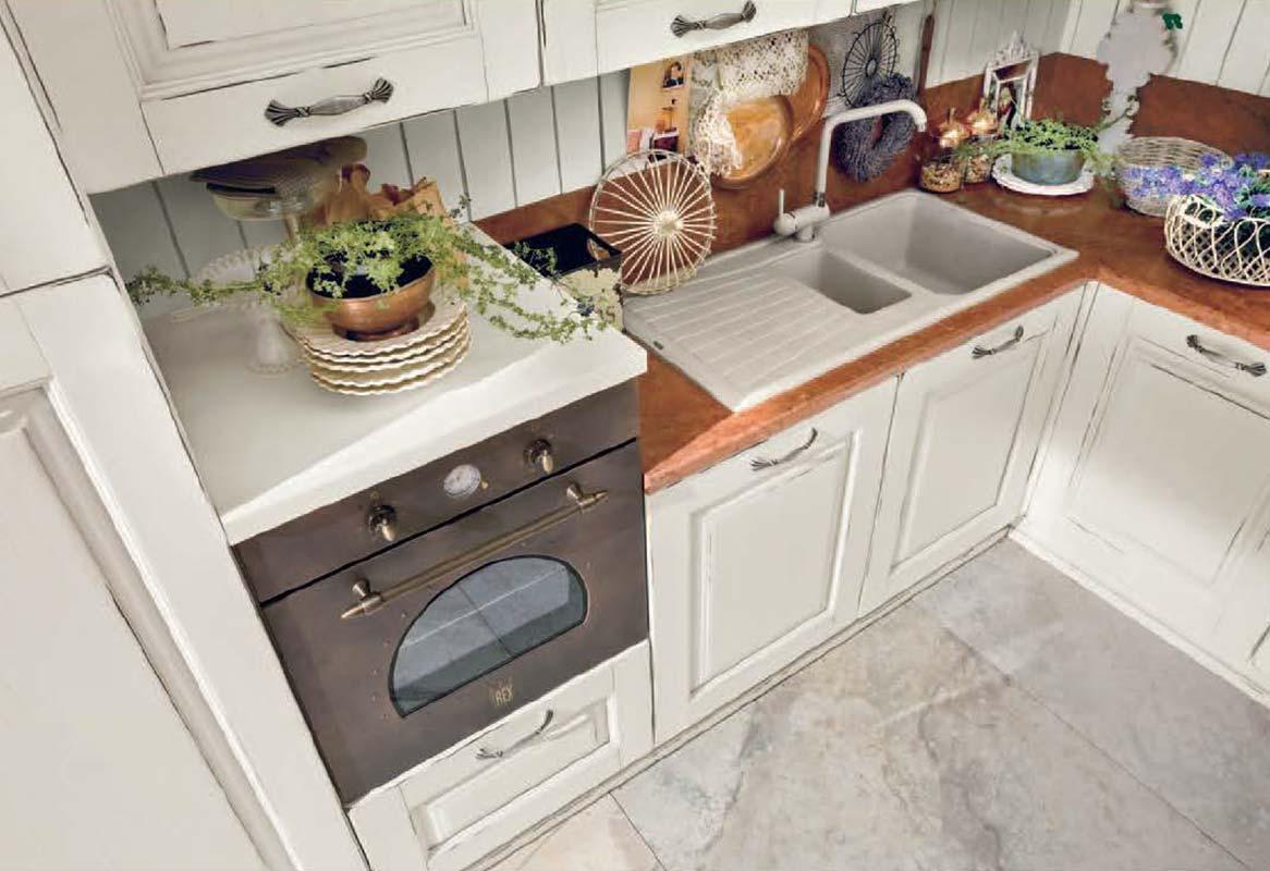 Specchiera Classica Noce Alba : Cucina atena mobili gamma srl