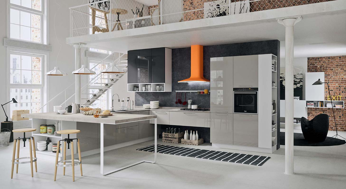 Cucina bahia mobili gamma srl for Gamma mobili bari
