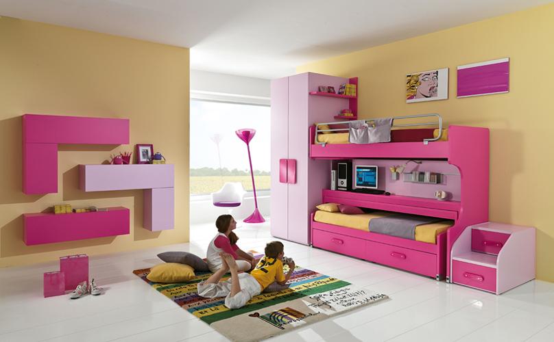 Cameretta slider desk mobili gamma srl - Idee per dipingere cameretta ...