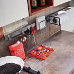 Cucina moderna Ar-Tre Idea materico laccato opaco